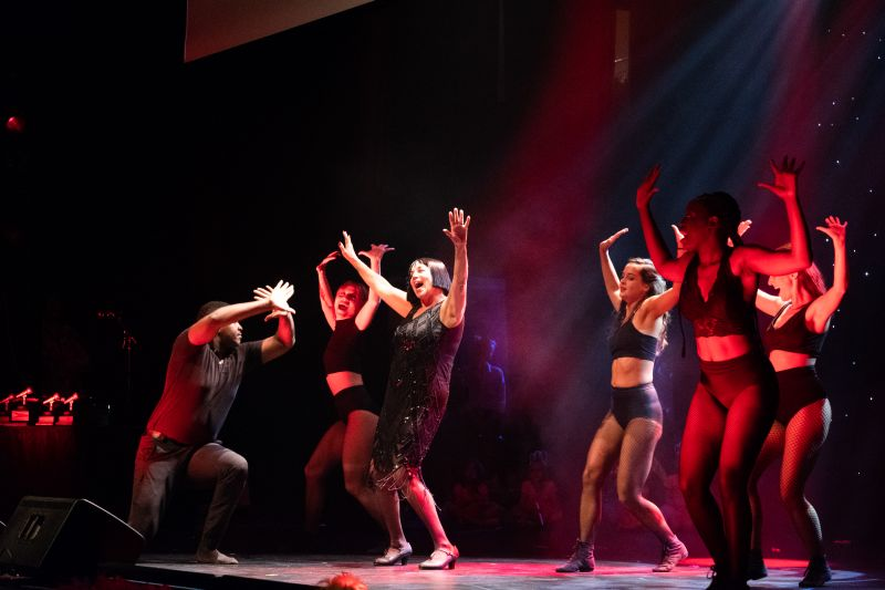 Susan Pearlstine and dancers from Dance Lab bring the house down.