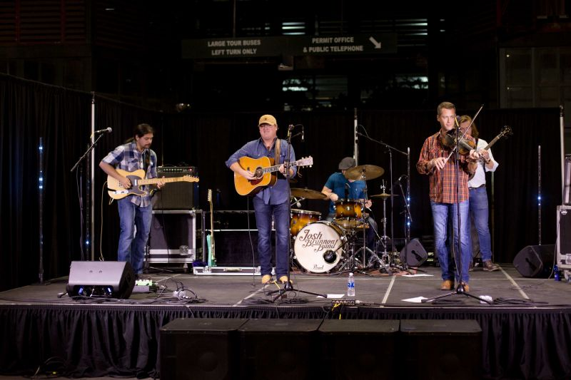 A performance by the Josh Brannon band rounded out the night.
