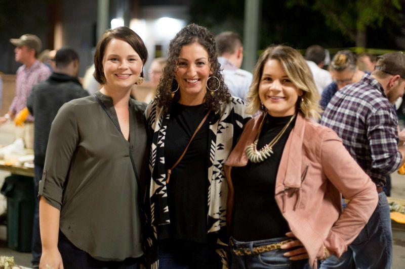 Amanda Bentley, Josie Fitzwater, and Jenny Dobbs