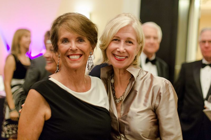 Founder Lynn Young and Phyllis Gray
