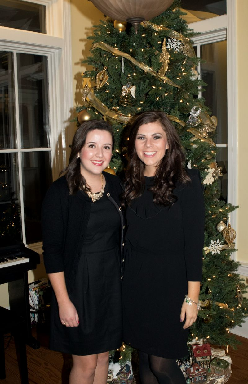 Charleston magazine staff members Catherine Lowe and Molly Wickham