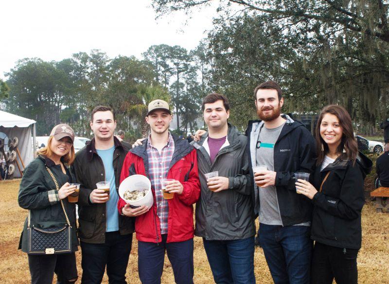 Kaelin Campbell, Russell Smith, Ryan Mills, Thomas Garrett, Matt Buse, and Carrie Buse