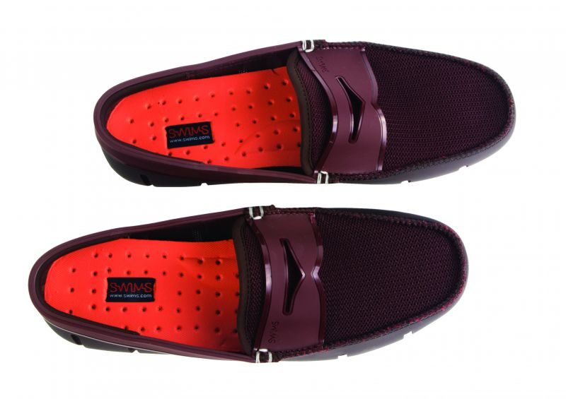 Swims, Penny loafer in brown/dark clay, $159 at Gwynn's