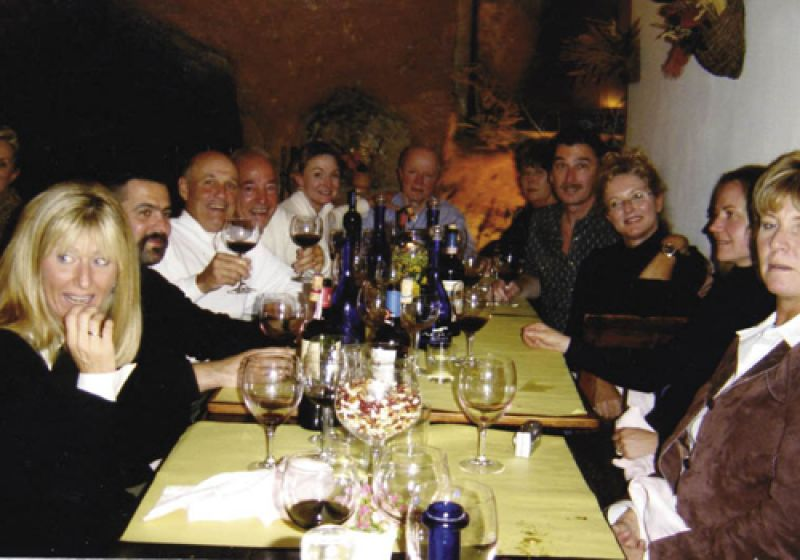 For five nights on the Italy Discovered tour, travelers eat at fine dining establishments in Tuscany and Rome.