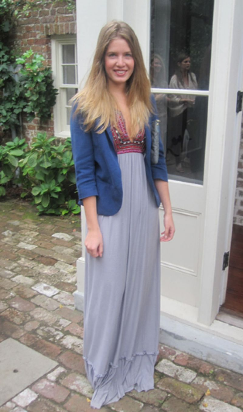 Street Style: Gorgeous maxi dress!