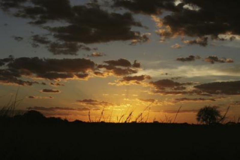 A stunning sunset.