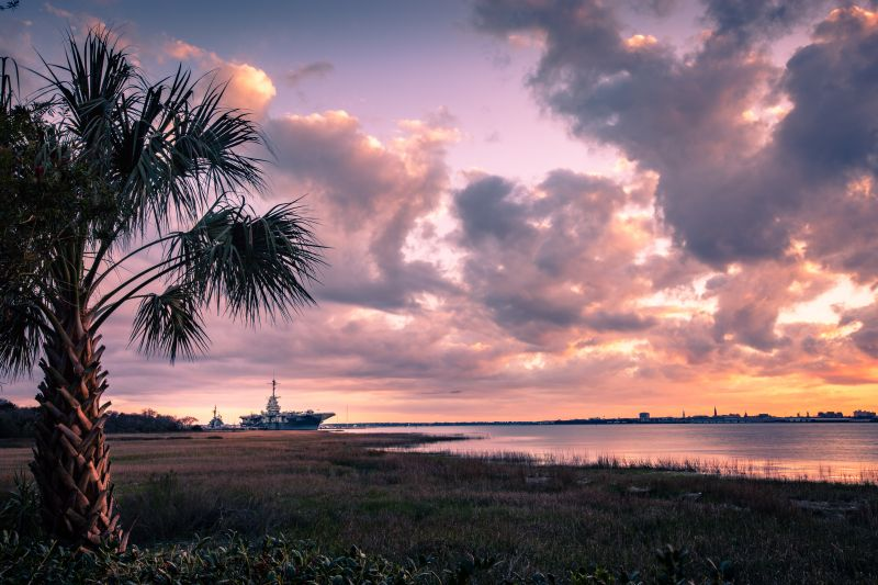WINNER! Professional category: The Yorktown at Sunset by Josh Corrigan