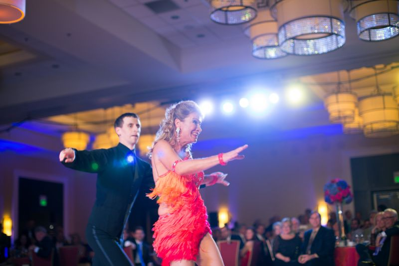 Lisa Weitz and Maksym Sidak performed a high-energy number.