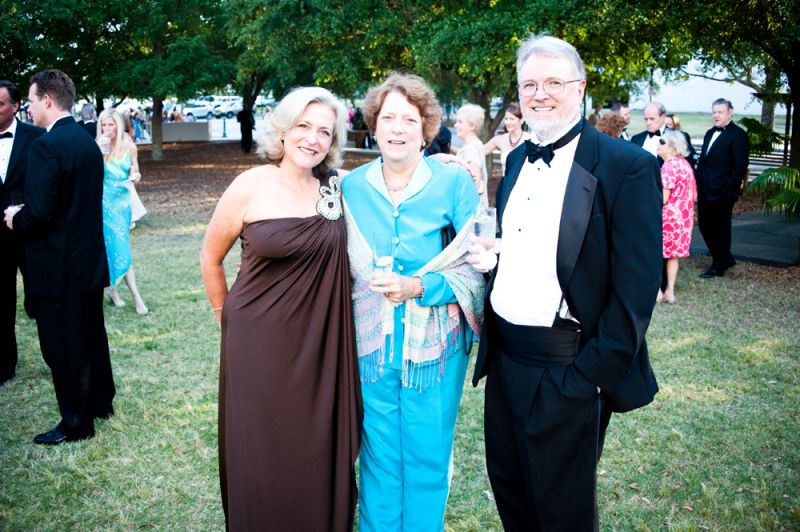 2013 gala co-chair Gretchen Penny, Jenny Hane, and Julian Wiles