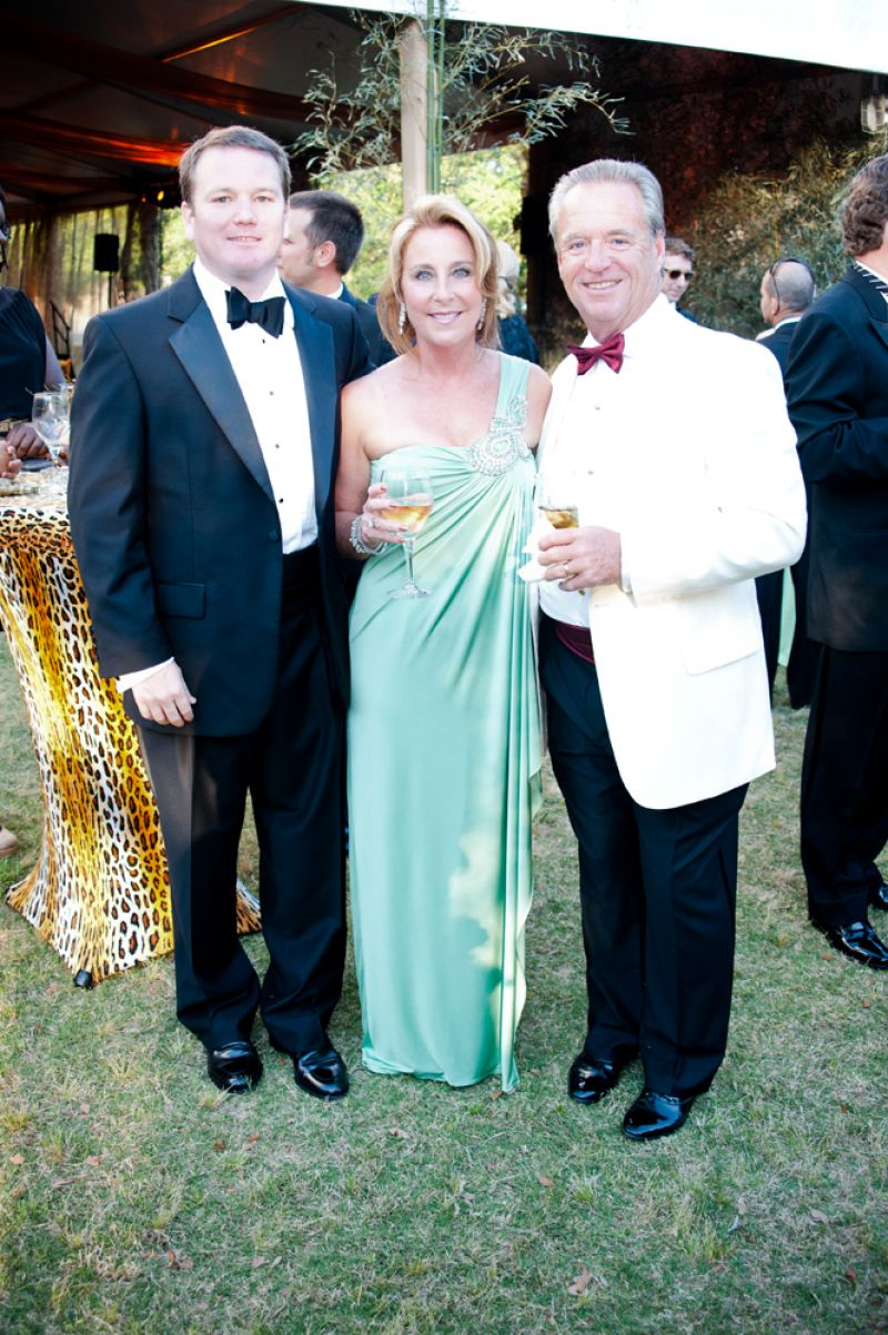 Tom Fitzgerald with Kevin and Sandra Gray