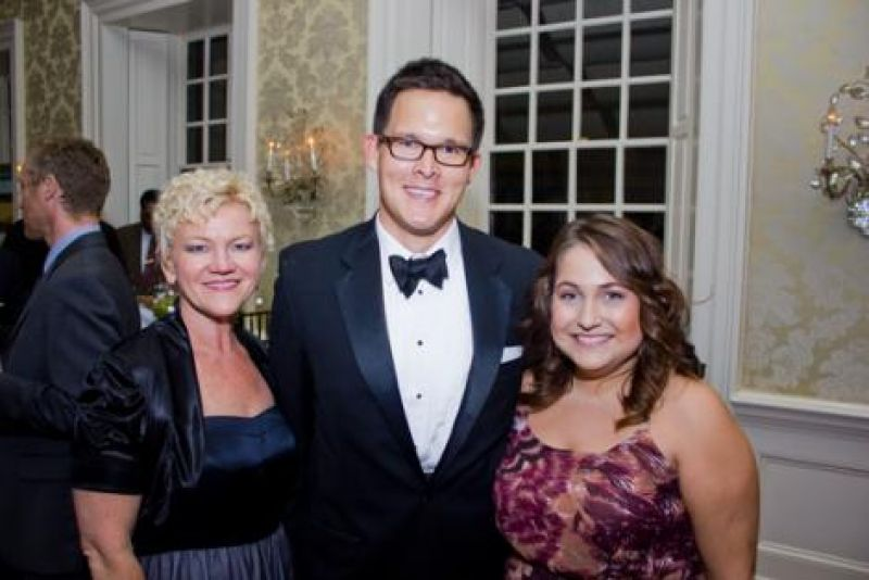 Kim Brown, Enlightened Grains founder Matt Anderson, and Elizabeth Urko.