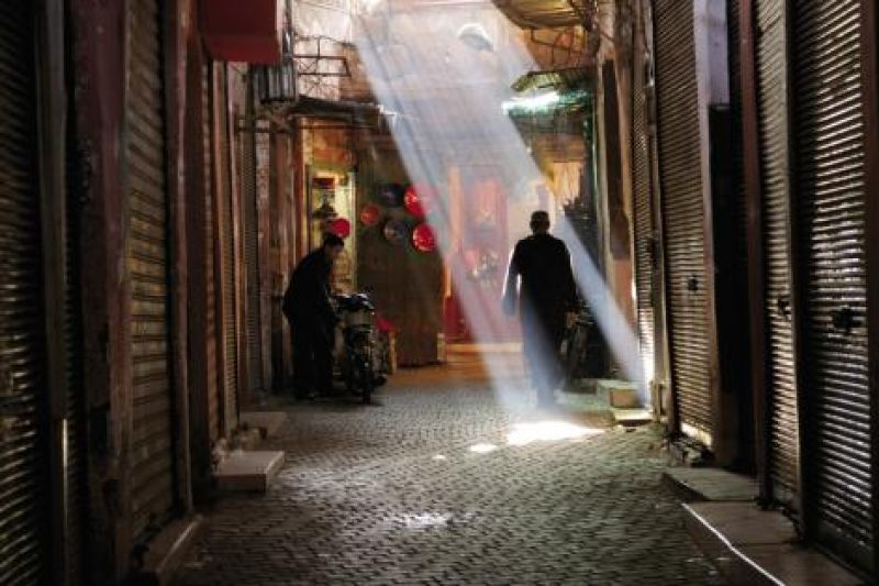 "Winning Shots: The Emmy nod for cinematography was for the episode titled ""Morocco: Mysteries of the Nomads."" An alley in Marrakech."