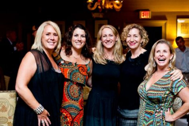 Mary Zapatka, Jennifer Bilbro, Darcy Shankland, Jessica Grossman, and Angie Pitts