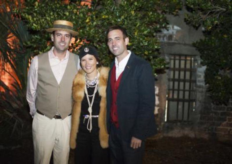 Justin Lewis, Lindsay Fleege, and Bryan Lewis
