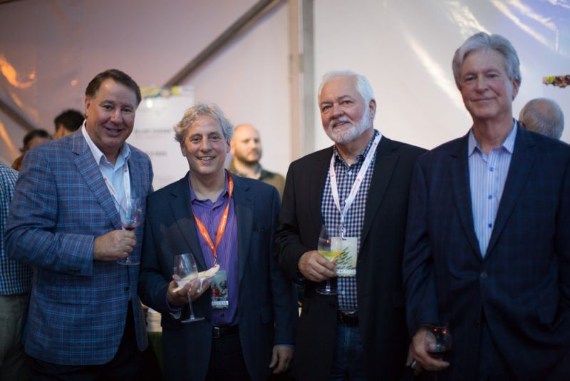 Hal Jones, David Marconi, Steve Kish, and Steve Wenger