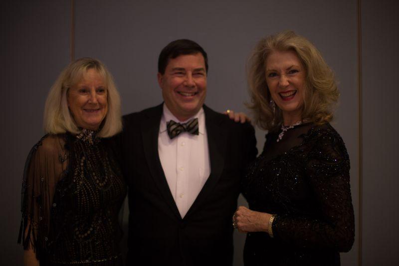 Elaine and Randy Cuthbertson with Sandy Feldman