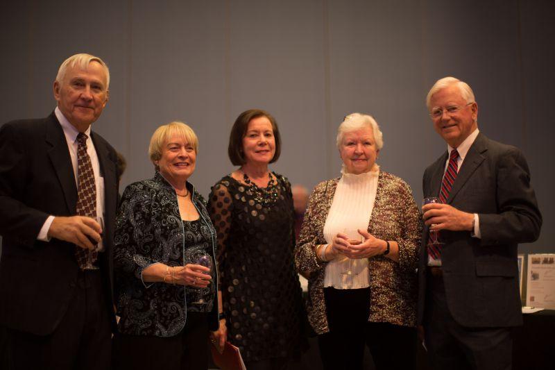 Ken and Sue Ingram, Patti Tully, and Jackie and Sam Gawthrop