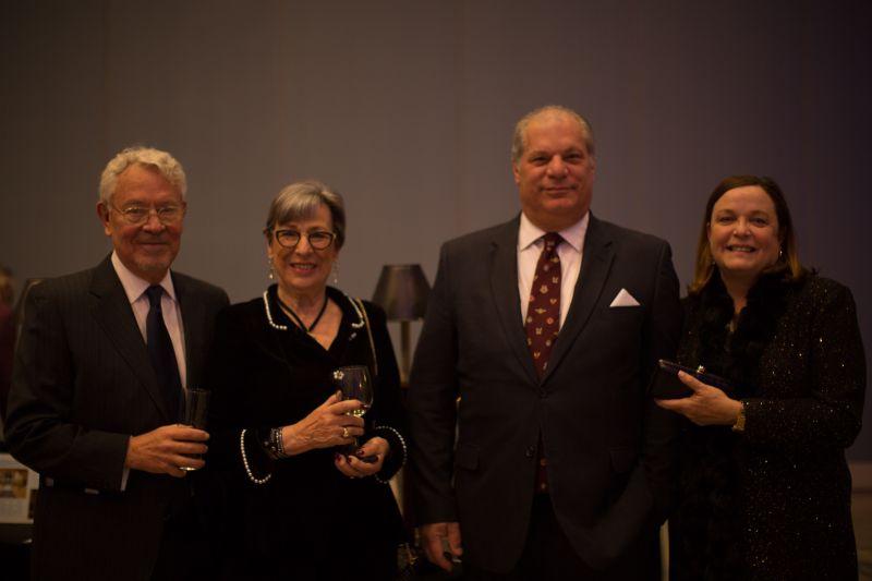 Bob and Ornella Gabhardt with Gene and Susan Massamillo