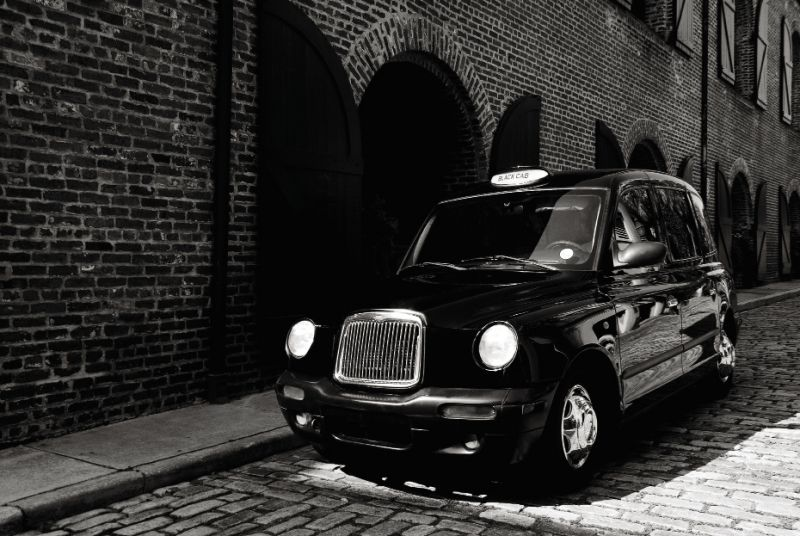 London Black Cab from Charleston Black Cab Company