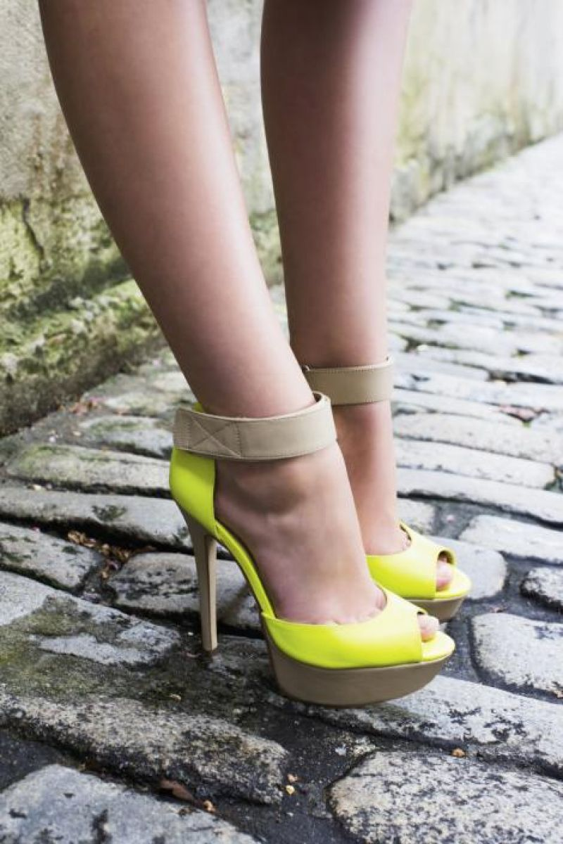 """Camella"" peep-toe platform sandals, $110 at ALDO"