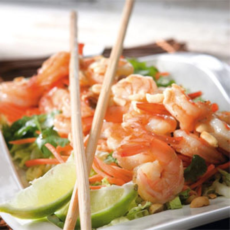 Charleston SC | Thai Shrimp Salad | Charleston Magazine