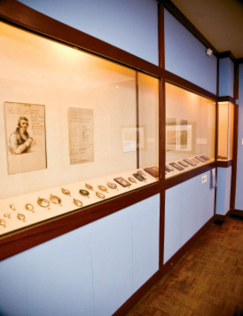 Today, the Gibbes is able to showcase a small portion of its portrait miniatures collection—the third largest in the U.S.—at a time