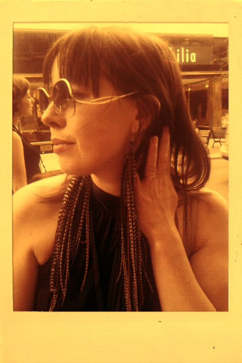 Street Style- Asheville Knows Feather Earrings!