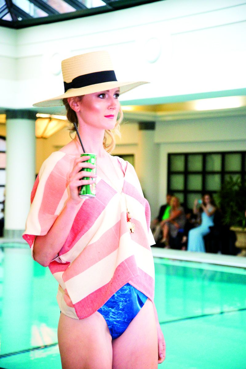A carefree summer look from designer Lauren Lail