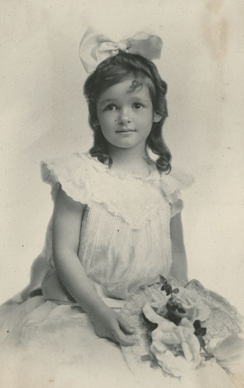 A young Gertrude