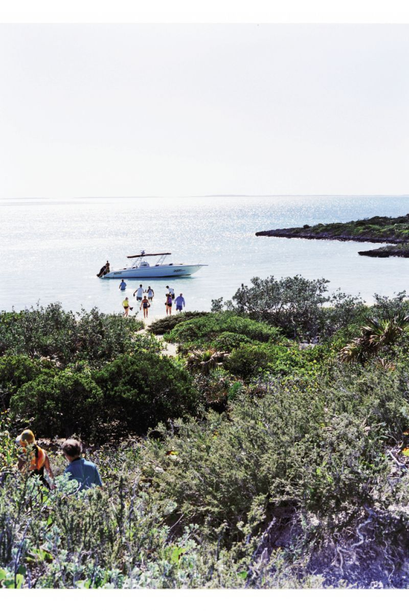 By boat, visitors can explore lesser-known islands on balmy winter days