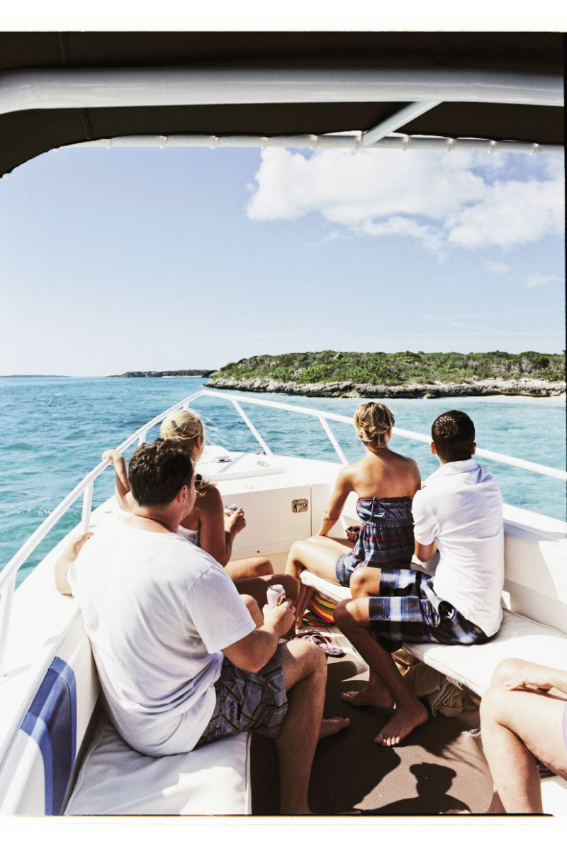 Visitors taking the Exuma Cays Safari see few other people during a day-trip to the nationally protectedExuma Cays Land & Sea P