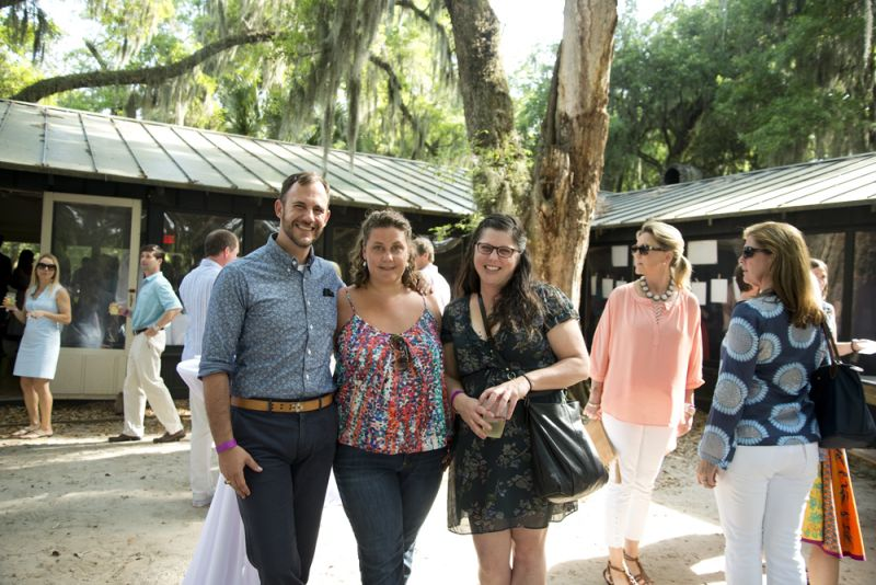 Charleston magazine fashion insider Cator Sparks forges a new friendship with Abigail Raines and Jessica Baldwin under the beautiful oaks of Middleton Place.