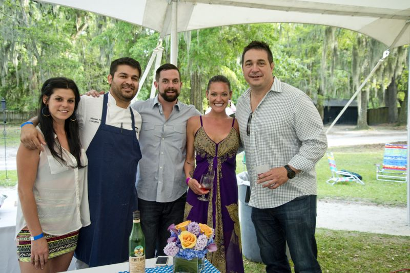 Indaco's Carly Painter, chef Michael Perez, general manager Jon Murray, Jasmine Beck, and managing partner Steve Palmer.