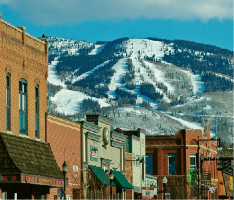 "Winter retreat: ""Visiting Steamboat Ski Resort is a healthy vacation. I like to be the first one on the lift and the last one off."""