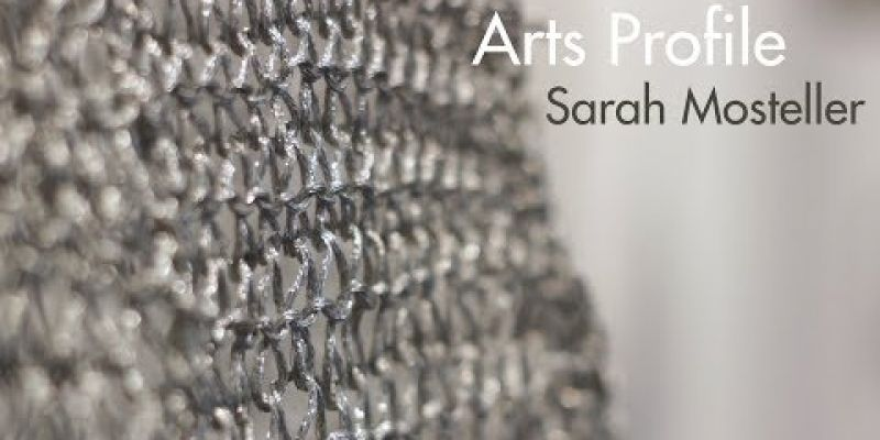 Embedded thumbnail for VIDEO: Arts Profile: Sarah Mosteller