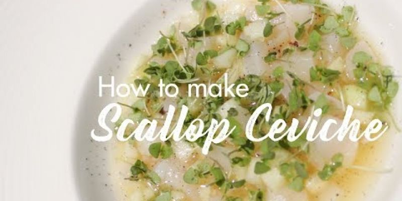 Embedded thumbnail for VIDEO: How To Make Charleston Grill's Scallop Ceviche