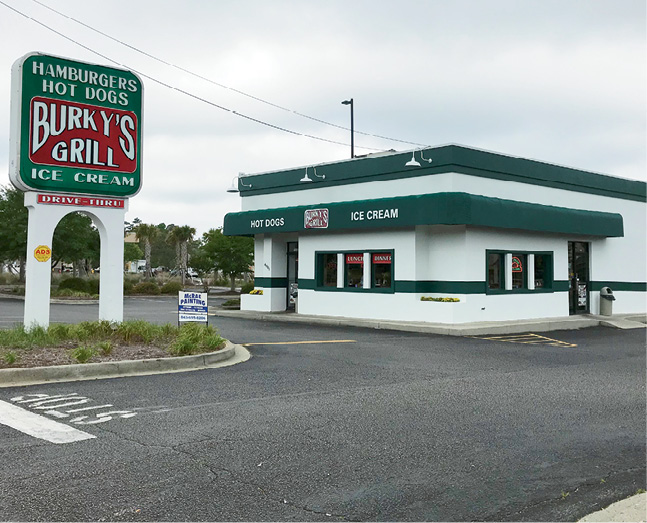 4001 N Kings Highway Myrtle Beach 843 626 2888 Http Burkysgrill This 1950s Throwback Is Famous For Thin Crisp Hamburgers But Also Try The 3 Way