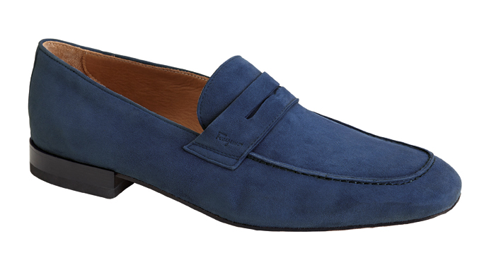 """In His Shoes: """"Sure they're Italian and they look great, but Ferragamos have comfy rubber soles and come in size 13."""" $595, ferragamo.com"""