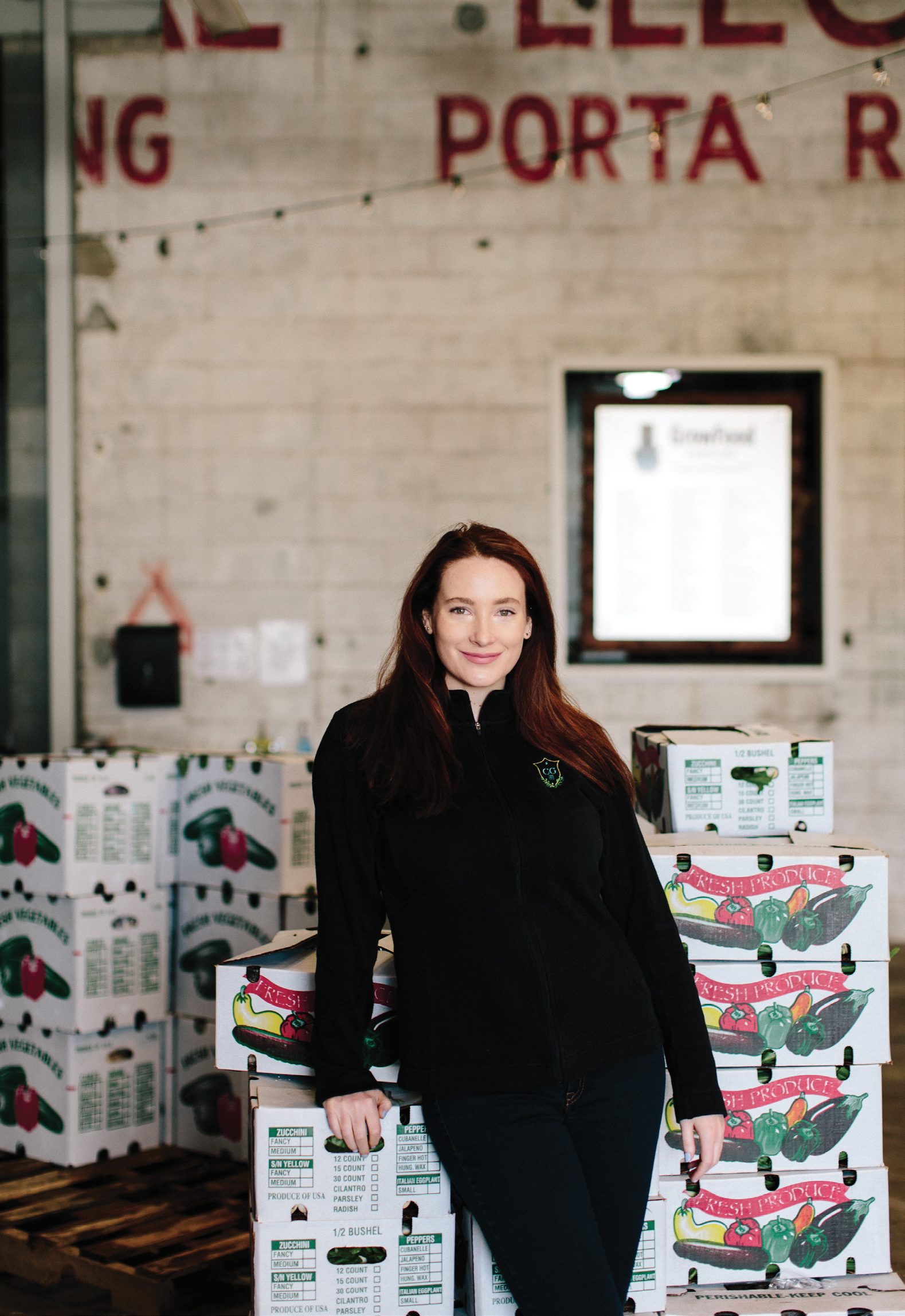 """GrowFood makes buying produce easy—lots of unique items and staples, all local. Right now, I'm loving their baby turnips and different types of kale."" —Amalia Scatena, Cannon Green"