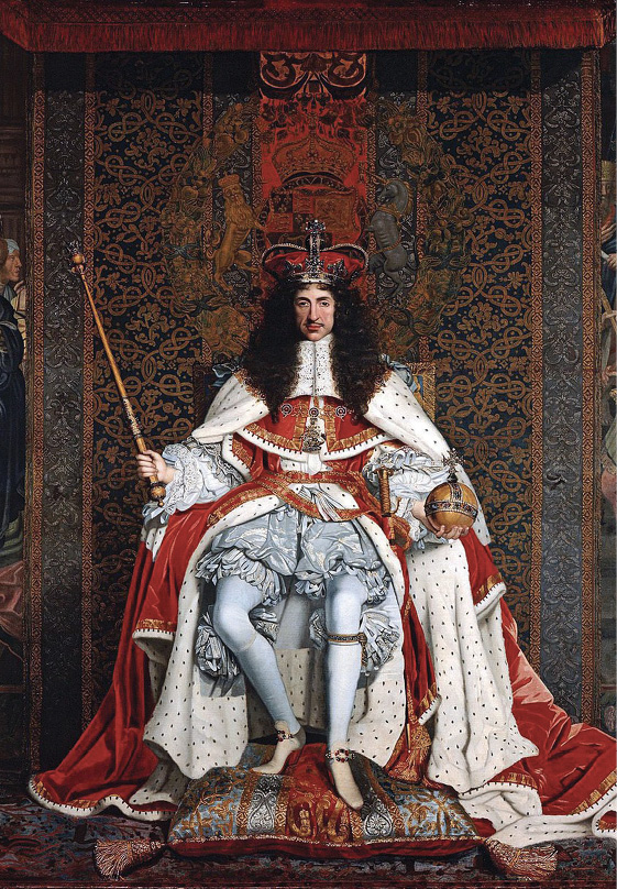 Charleston's namesake, King Charles II
