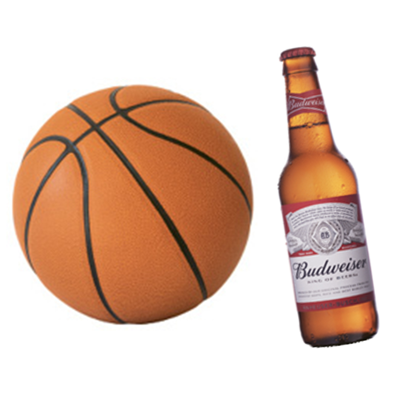 "Suds & Sports: ""I love a nice cold Budweiser, especially when I'm watching a game. I'm a San Antonio Spurs fan."""
