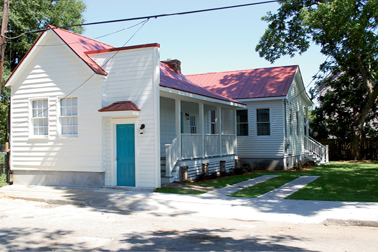 HCF has used its Revolving Fund to preserve and restore freedman's cottages on Lee Street, homes not nearly as grand as Battery beauties but equally vital and significant.