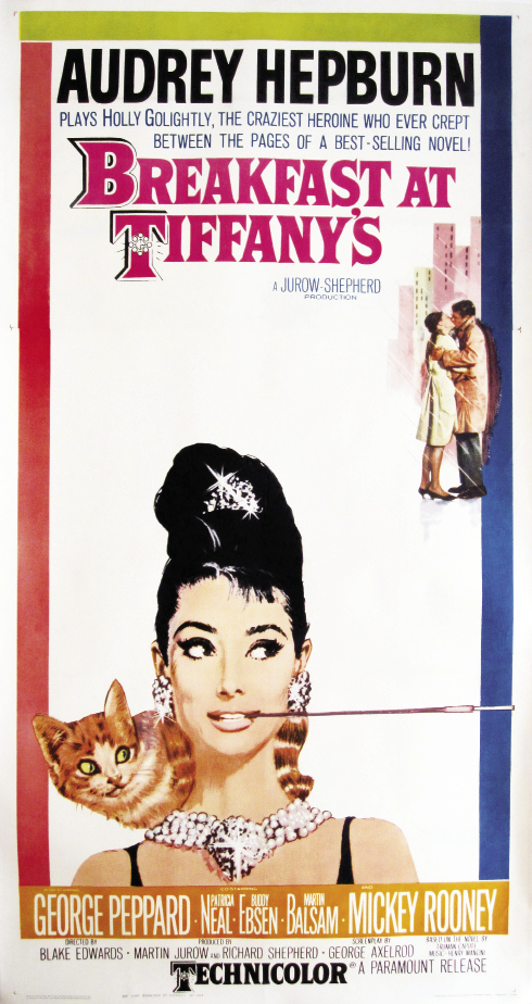 Vintage Breakfast at Tiffany's poster, $14,900, at Julia Santen Gallery