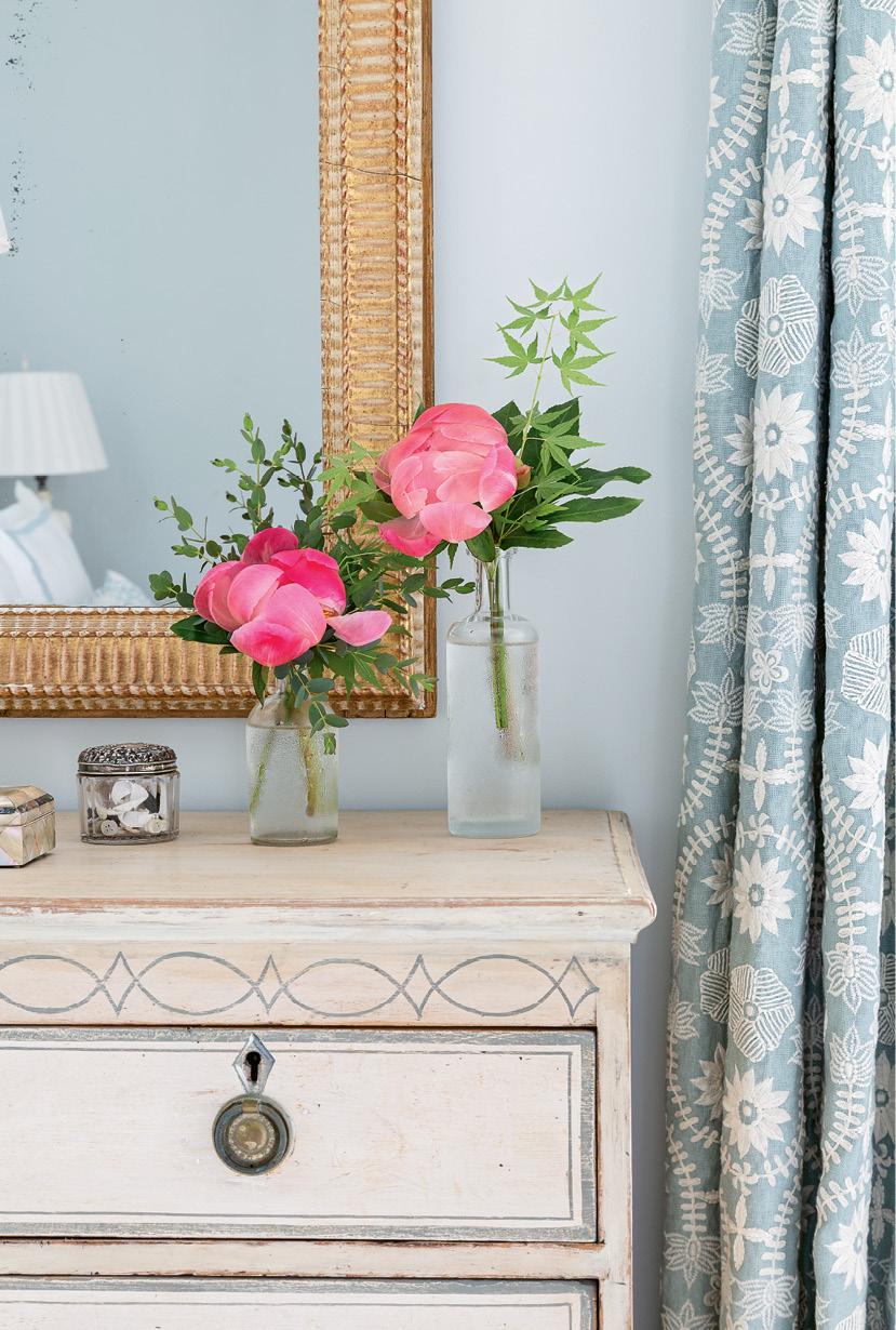 """Suzanne Tucker Home """"Latika"""" embroidered curtains in """"aqua"""""""