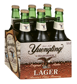 "Nostalgic Brew - ""Yuengling was the first real American beer I drank, so it's always been a staple."""