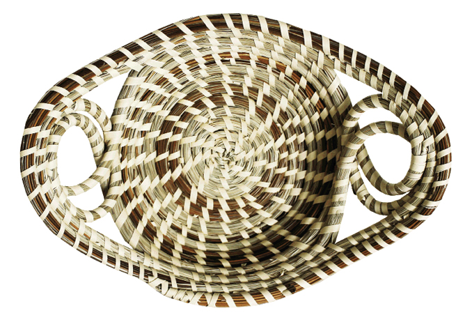 Sweetgrass basket, $185, at Charleston City Market