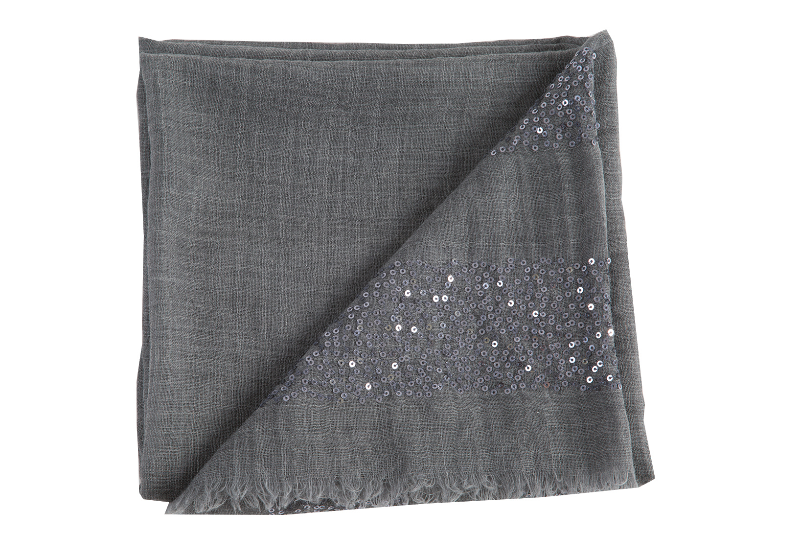 Small sequin pashmina, $99 at Out of Hand