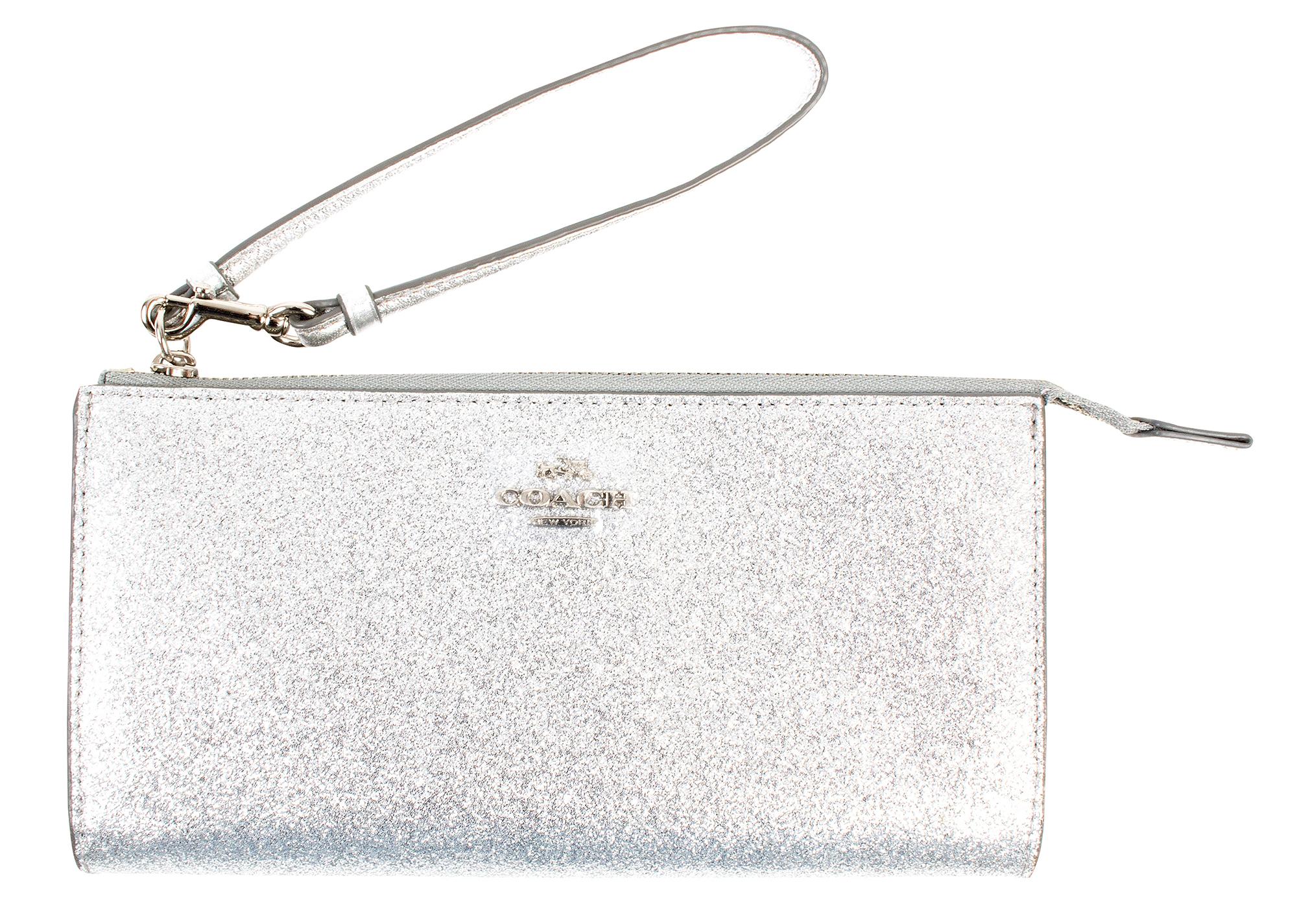 """Coach """"Glitter Zip Wallet,"""" $95 at Belk of Mount Pleasant"""