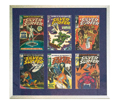 "Silver Surfer Dude  ""I collected all 18 original comic books from the '60s and '70s. And I have a Silver Surfer tattoo."""
