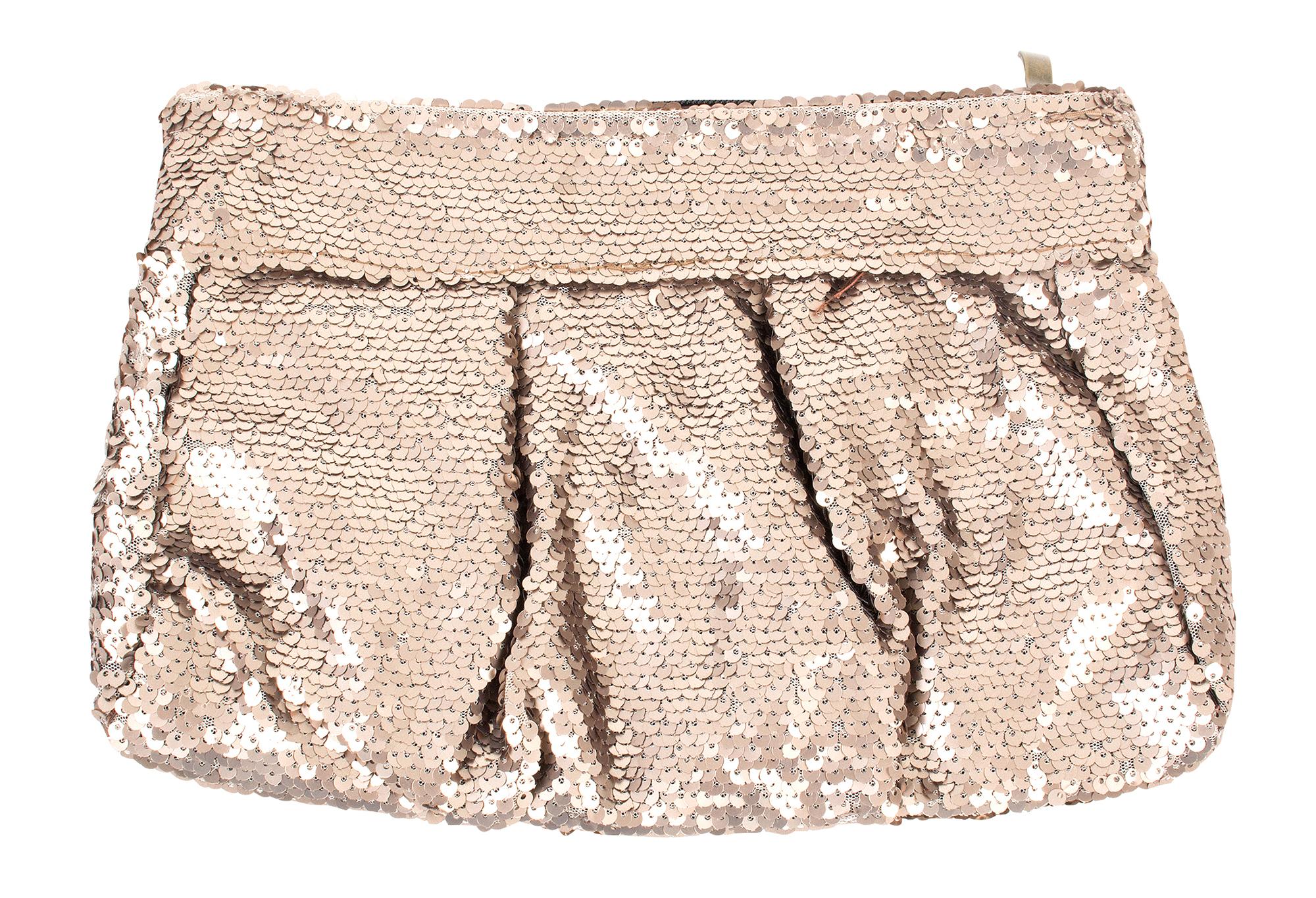 Muche et Muchette sequin clutch, $50 at Copper Penny